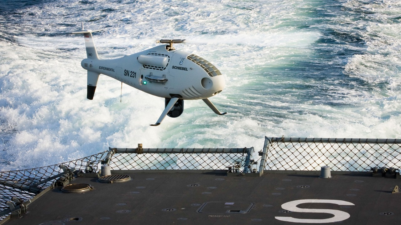 S-100 Camcopter,drone,UAV,unmanned warrior 2016,UAE Air Force,hi-tech