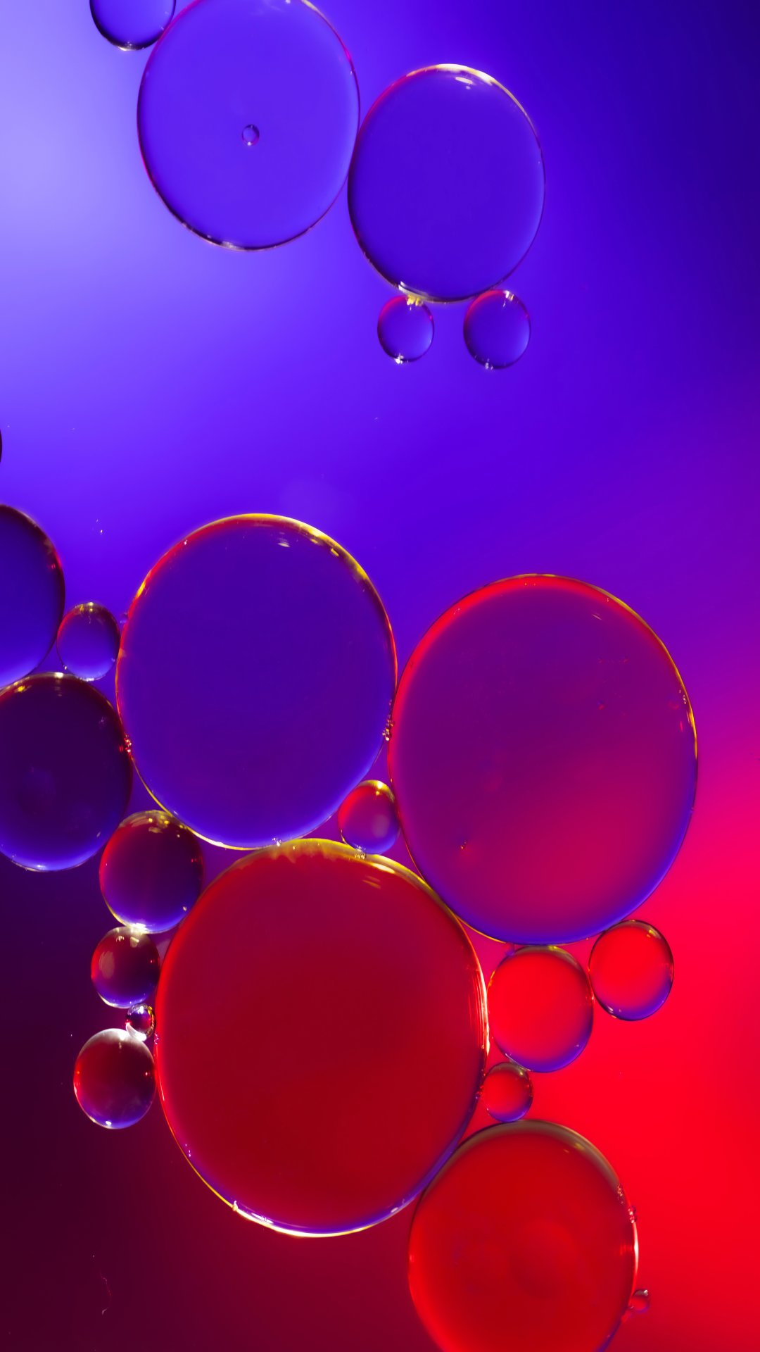 blue,red,Bubble,Colorful,4K