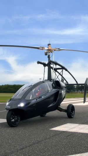 Pal-v One,flying car,helicycle