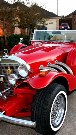 Excalibur Phaeton,Mercedes-Benz SSK,classic cars,retro,limited edition,Series II,roadster