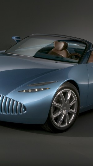Buick Bengal,concept,Buick,classic cars,roadster,cabriolet,blue,front