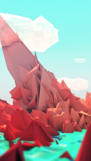 polygon,4k,5k wallpaper,landscape,mountains,nature,abstract
