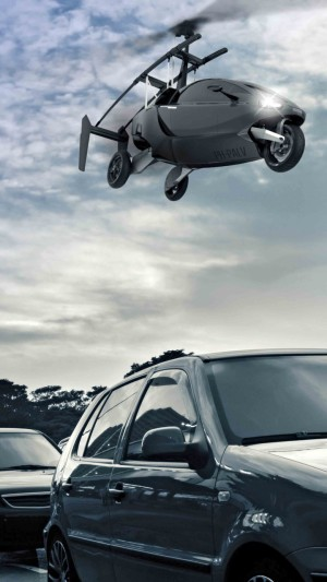 Pal-v One,flying car,helicycle,hi-tech