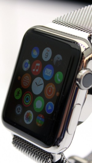 Apple Watch,watches,review,interface,iWatch,wallpaper,Apple,display,silver,Real Futuristic Gadgets,hi-tech